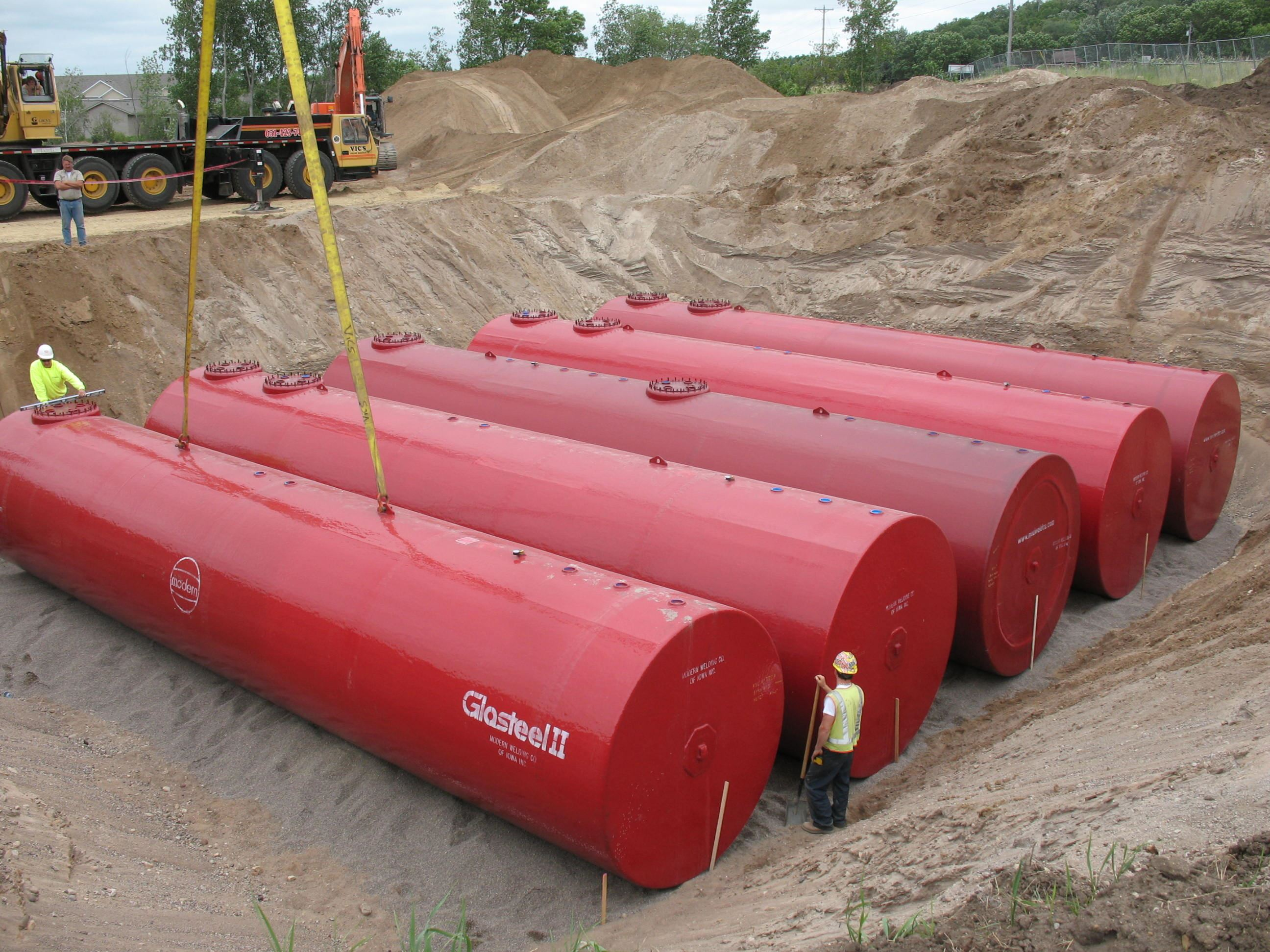 Underground Storage Tank - properly maintained-installed
