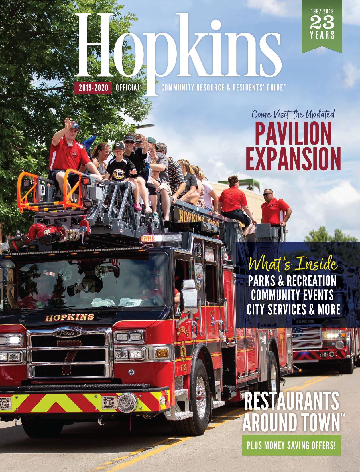 2019 Hopkins Community Guide Cover