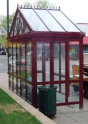Bus Shelter at Mainstreet and 7th Avenue S